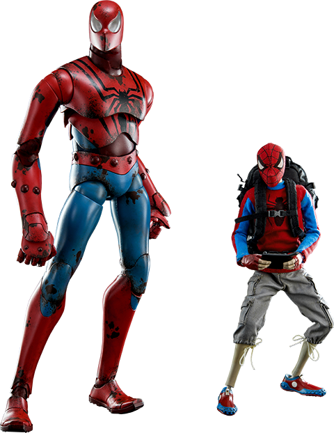 ThreeA Toys Peter Parker and Spider-man Sixth Scale Figure