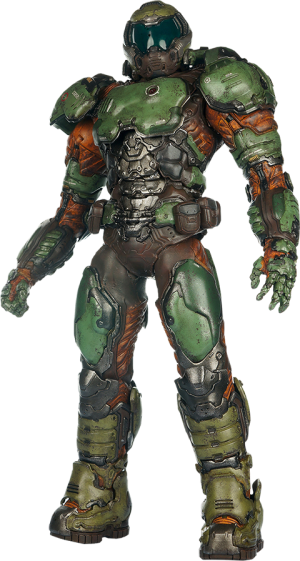The Doom Marine Sixth Scale Figure