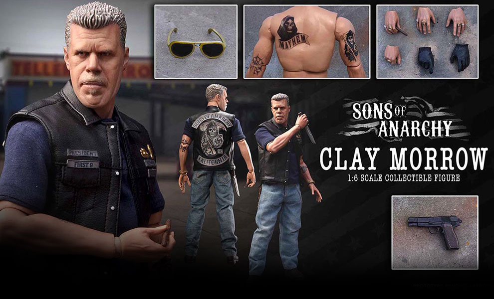 Gallery Feature Image of Clay Morrow Sixth Scale Figure - Click to open image gallery