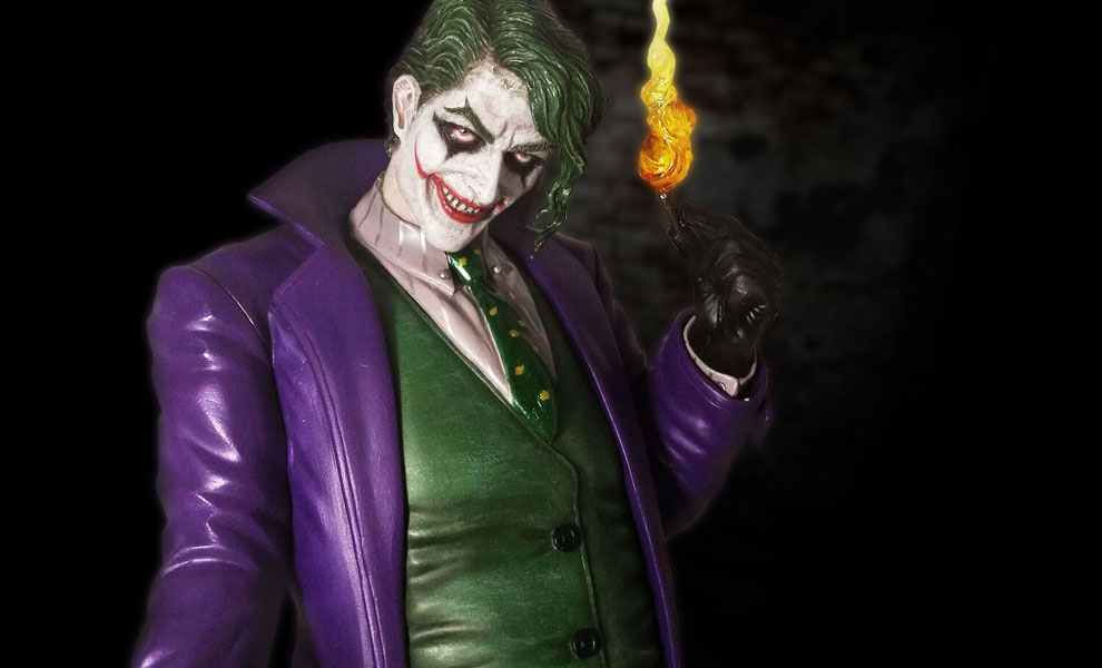 Gallery Feature Image of Joker Statue - Click to open image gallery