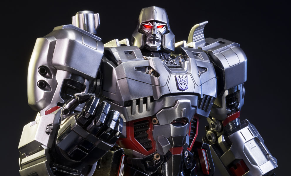 Gallery Feature Image of Megatron Transformers Generation 1 Statue - Click to open image gallery