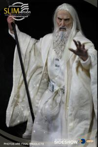 Gallery Image of Saruman the White Memorial Slim Version Sixth Scale Figure