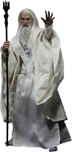 Saruman the White Memorial Slim Version Sixth Scale Figure