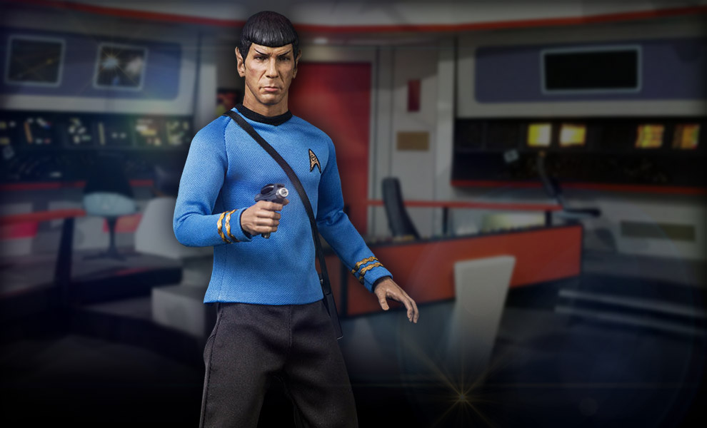 Gallery Feature Image of Spock Sixth Scale Figure - Click to open image gallery