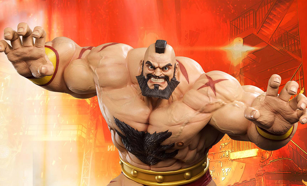 Gallery Feature Image of Zangief Statue - Click to open image gallery