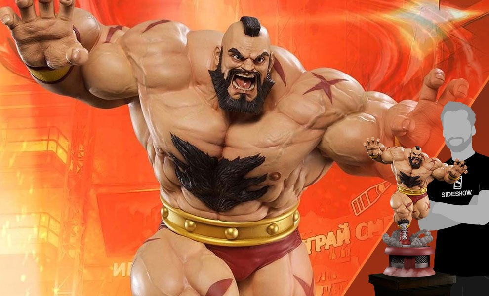 Gallery Feature Image of Zangief Siberian Express Statue - Click to open image gallery