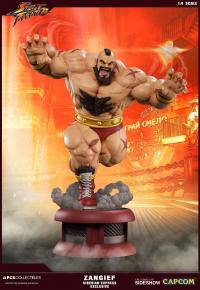 Gallery Image of Zangief Siberian Express Statue