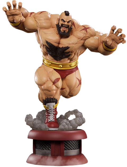 PCS Collectibles Zangief Siberian Express Statue