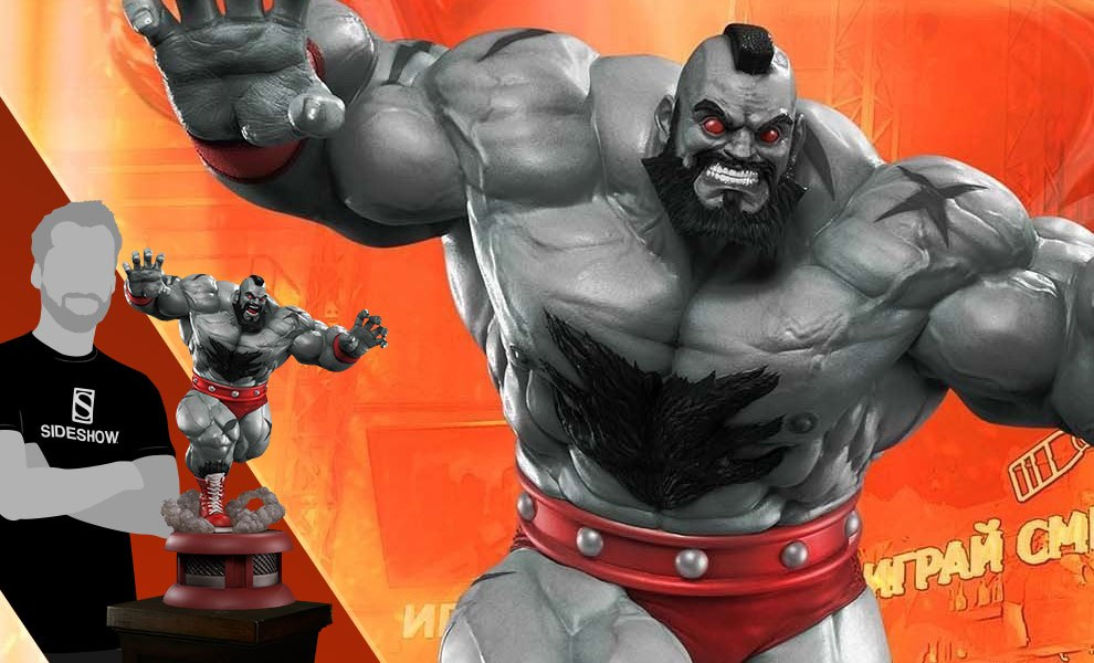 Gallery Feature Image of Zangief Mech Statue - Click to open image gallery