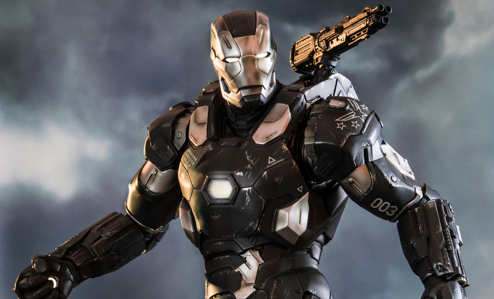 Gallery Feature Image of War Machine Polystone Statue - Click to open image gallery