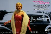 Gallery Image of Marilyn Monroe as Lorelei Lee Pink Dress Version Sixth Scale Figure