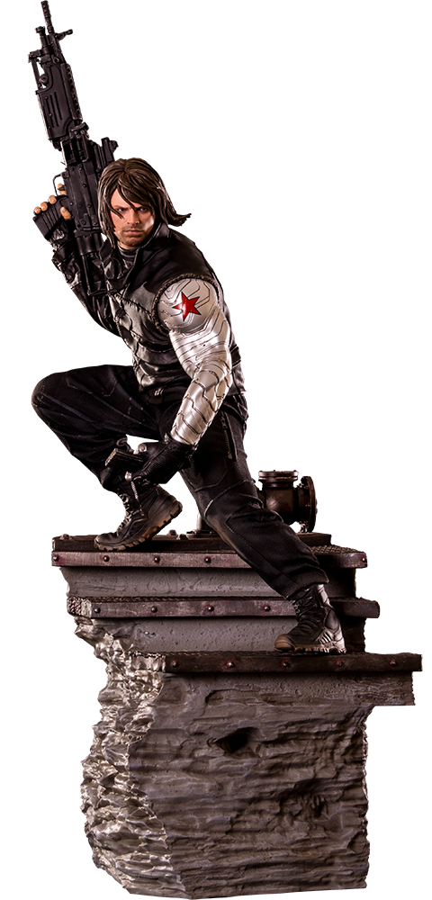 Iron Studios Winter Soldier Polystone Statue