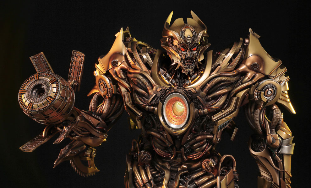Gallery Feature Image of Galvatron Gold Version Statue - Click to open image gallery