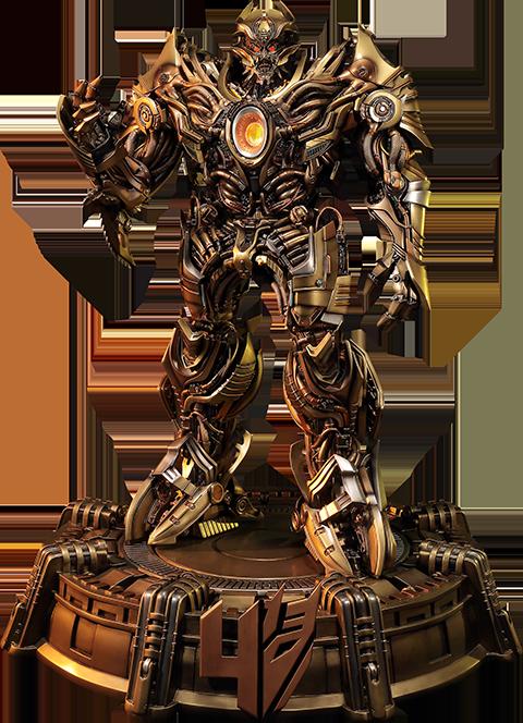 Prime 1 Studio Galvatron Gold Version Statue