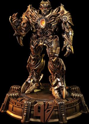 Galvatron Gold Version Statue