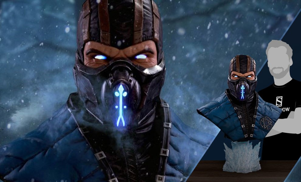 Gallery Feature Image of Sub-Zero Cryomancer Life-Size Bust - Click to open image gallery