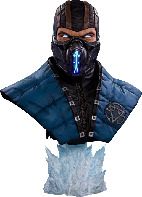 PCS Collectibles Sub-Zero Cryomancer Life-Size Bust