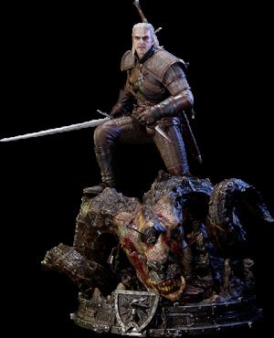 Geralt of Rivia Polystone Statue