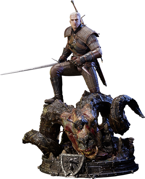 Prime 1 Studio Geralt of Rivia Polystone Statue