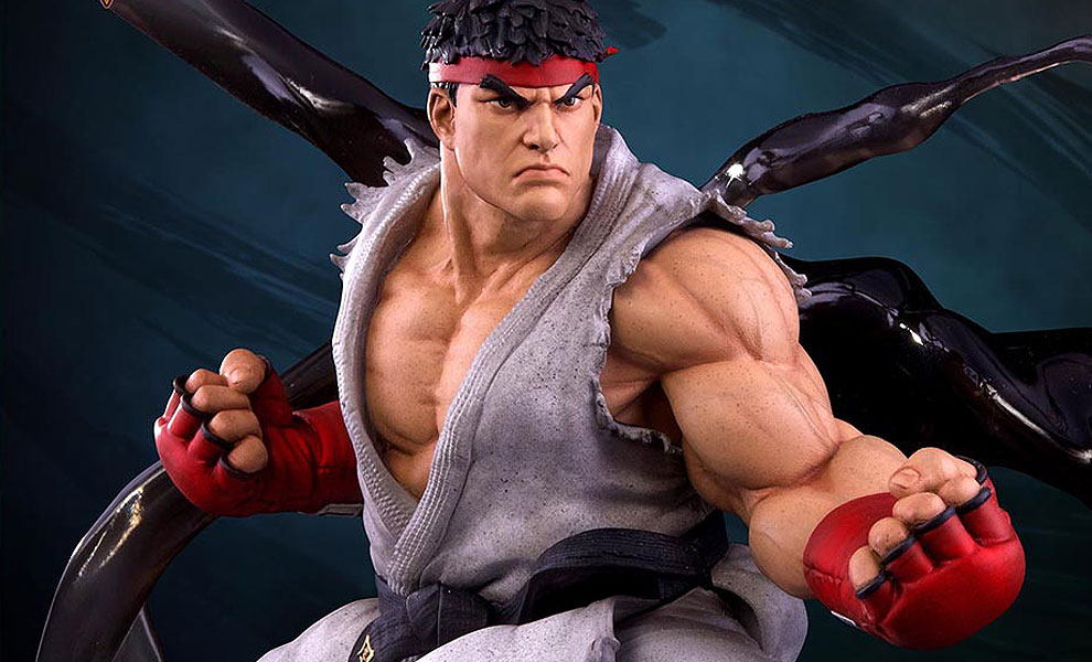 Gallery Feature Image of Ryu V-Trigger Statue - Click to open image gallery