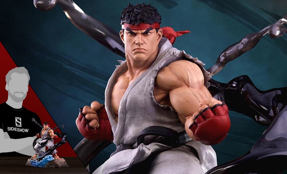 Gallery Feature Image of Ryu V-Trigger Denjin Renki Statue - Click to open image gallery