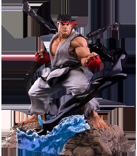 PCS Collectibles Ryu V-Trigger Denjin Renki Statue
