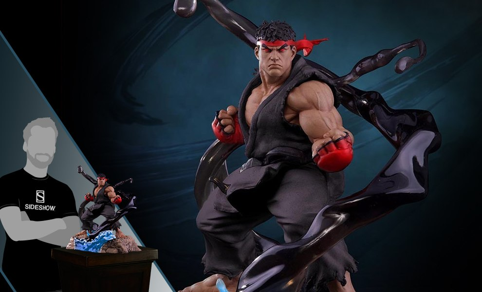 Gallery Feature Image of Ryu V-Trigger Satsui No Hado Statue - Click to open image gallery