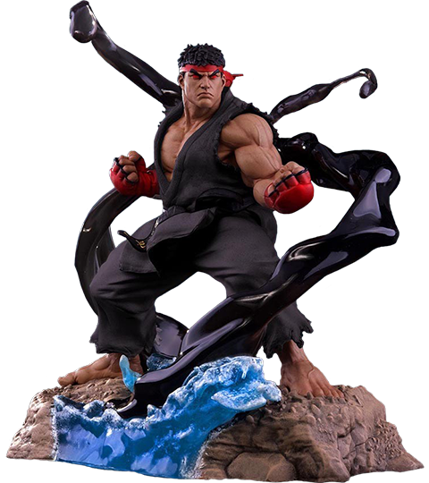 PCS Collectibles Ryu V-Trigger Satsui No Hado Statue
