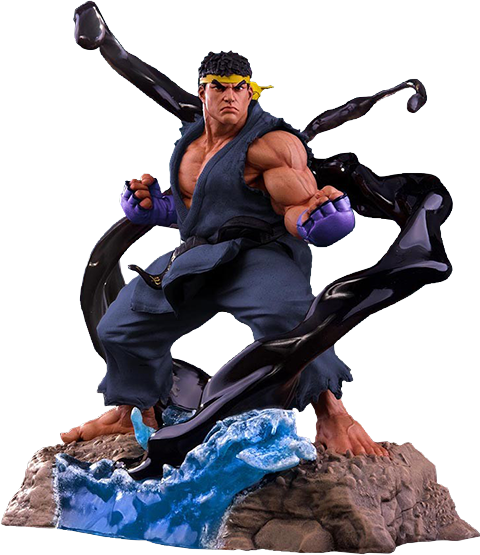 PCS Collectibles Ryu V-Trigger Player 2 Blue Statue