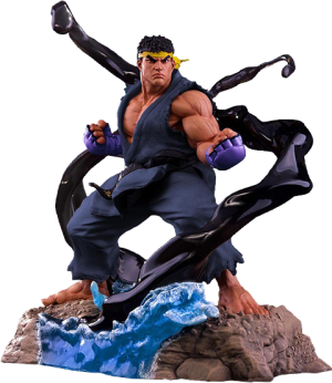 Ryu V-Trigger Player 2 Blue Statue