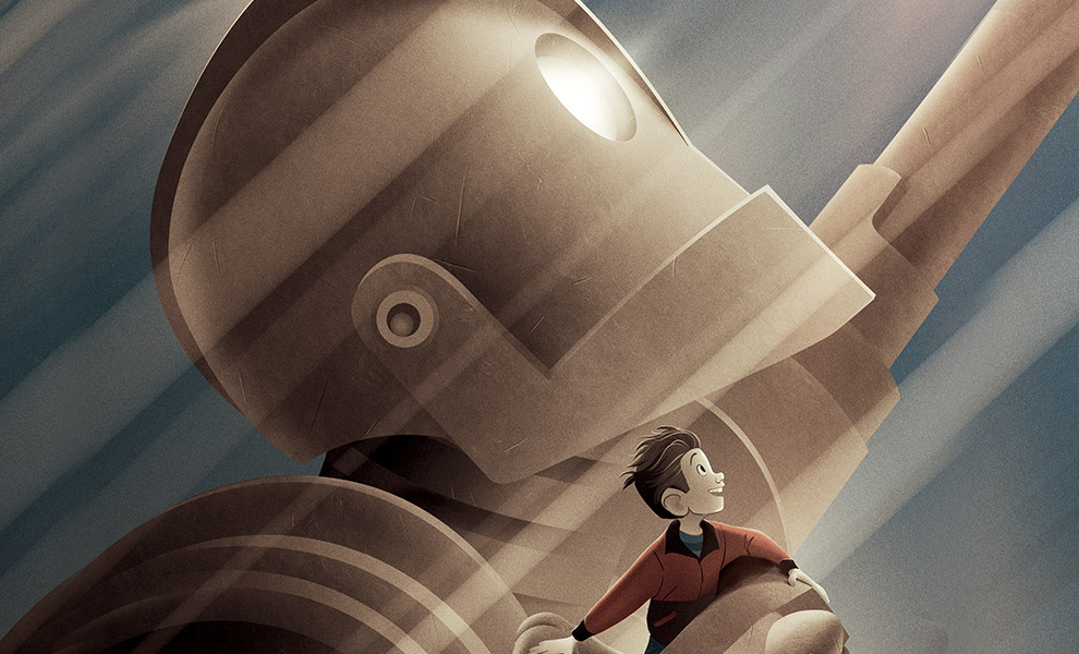 Gallery Feature Image of The Art of the Iron Giant Book - Click to open image gallery