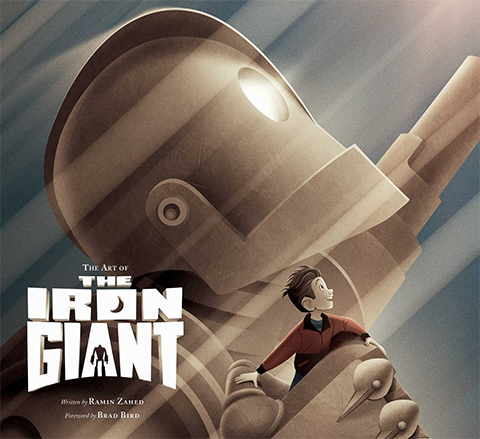 Insight Editions The Art of the Iron Giant Book