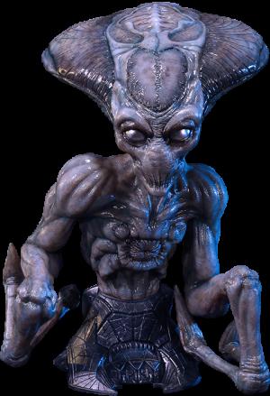 Alien Life-Size Bust
