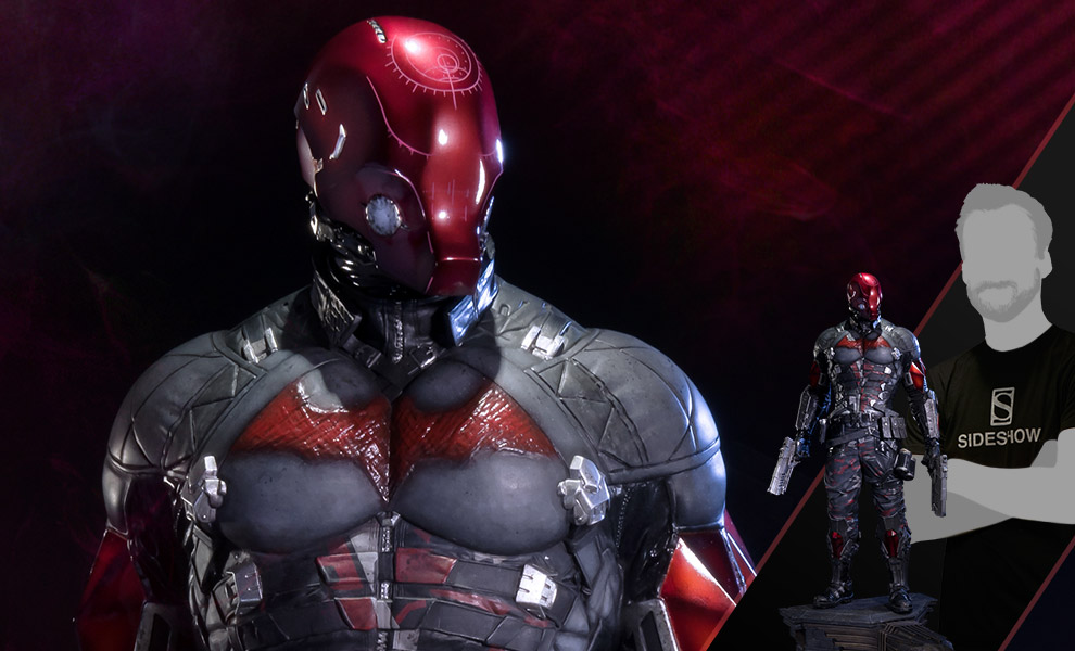 Gallery Feature Image of Red Hood Polystone Statue - Click to open image gallery