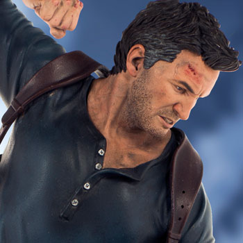 Uncharted Nathan Drake Statue By Sony Interactive Entertainm