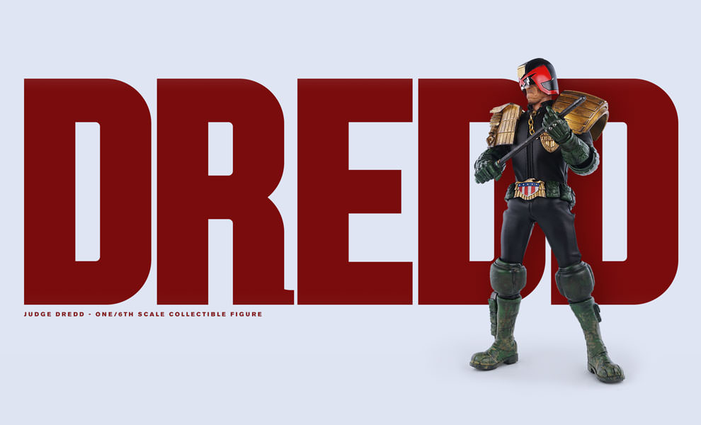 Gallery Feature Image of Judge Dredd Sixth Scale Figure - Click to open image gallery