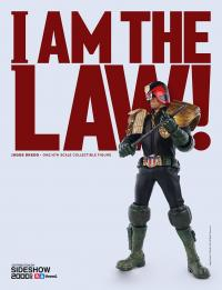 Gallery Image of Judge Dredd Sixth Scale Figure