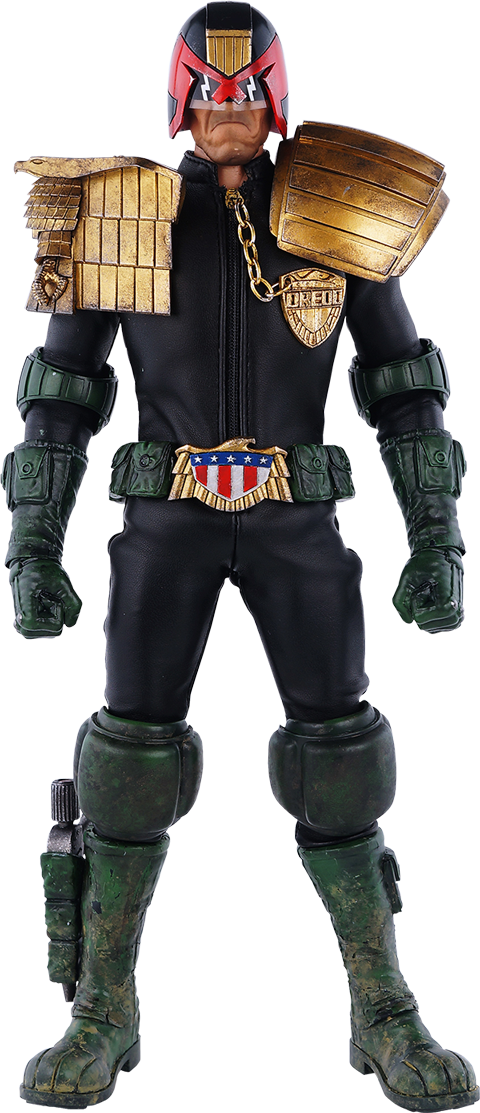 ThreeA Toys Judge Dredd Sixth Scale Figure