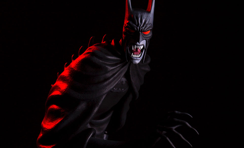 Gallery Feature Image of Batman Red Rain Statue - Click to open image gallery