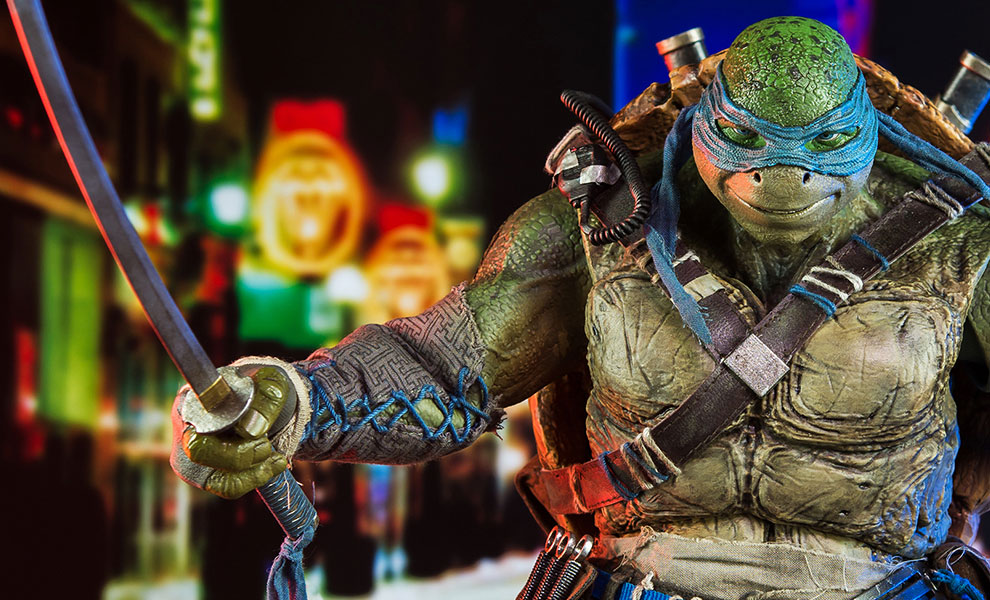 Gallery Feature Image of Leonardo Sixth Scale Figure - Click to open image gallery