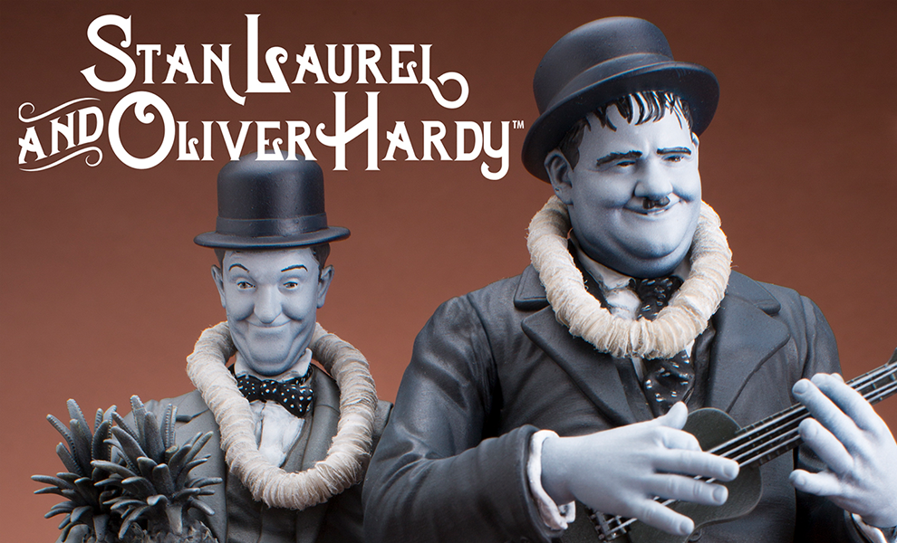 Gallery Feature Image of Stan Laurel Oliver Hardy Honolulu Baby Statue - Click to open image gallery