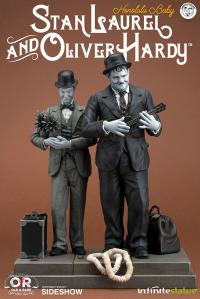 Gallery Image of Stan Laurel Oliver Hardy Honolulu Baby Statue