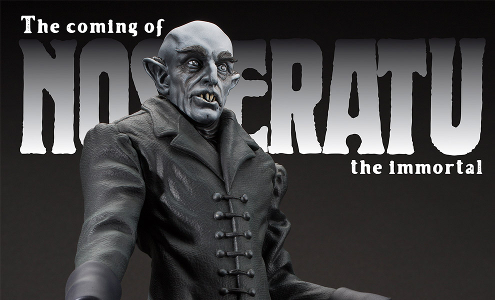Gallery Feature Image of The Coming of Nosferatu Statue - Click to open image gallery