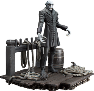 The Coming of Nosferatu Statue