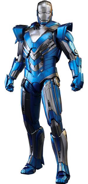 Iron Man Mark XXX - Blue Steel Sixth Scale Figure