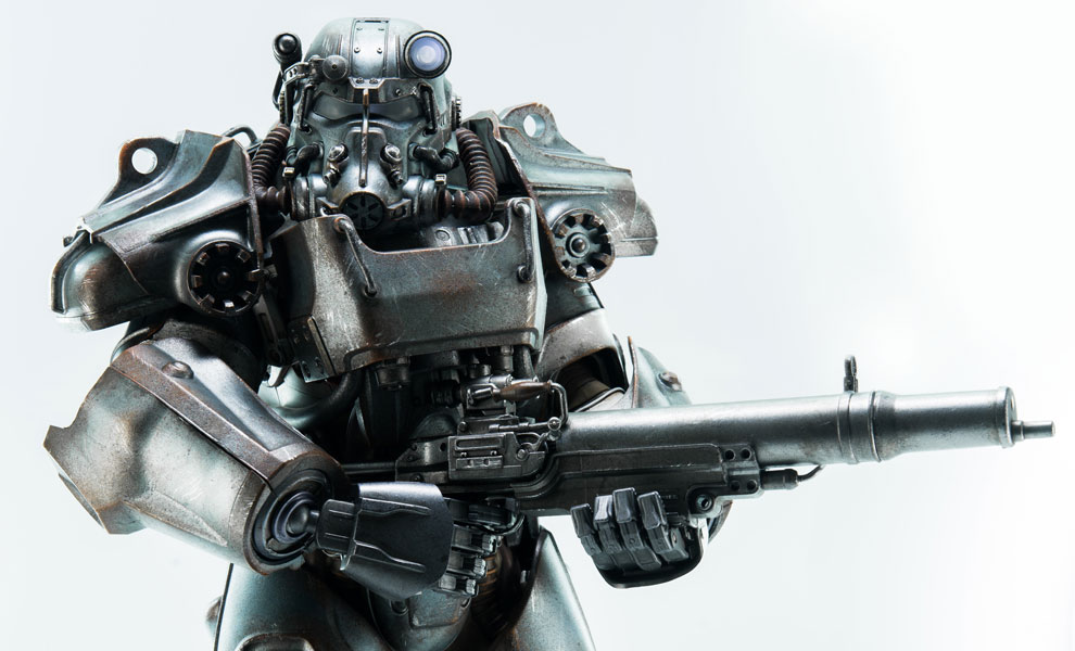 Gallery Feature Image of T-60 Power Armor Sixth Scale Figure - Click to open image gallery