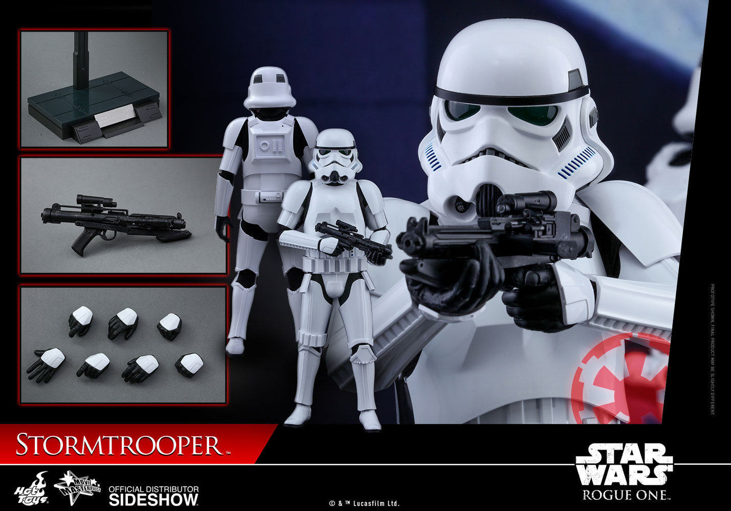NEW IMPERIAL STROMTROOPER 1:6 SCALE SIDESHOW COLLECTIBLE MILITARIES OF STAR WARS