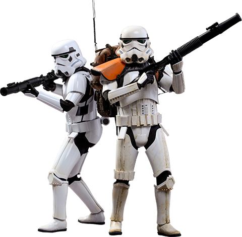 Hot Toys Stormtroopers Sixth Scale Figure