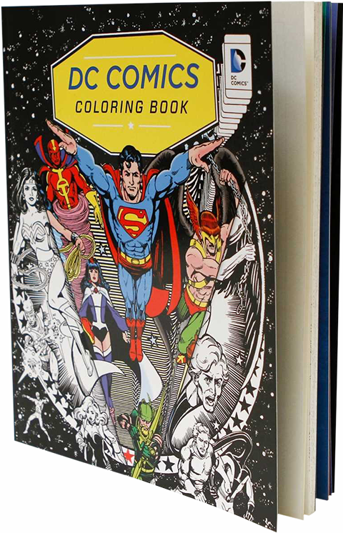 Insight Editions DC Comics Coloring Book Book