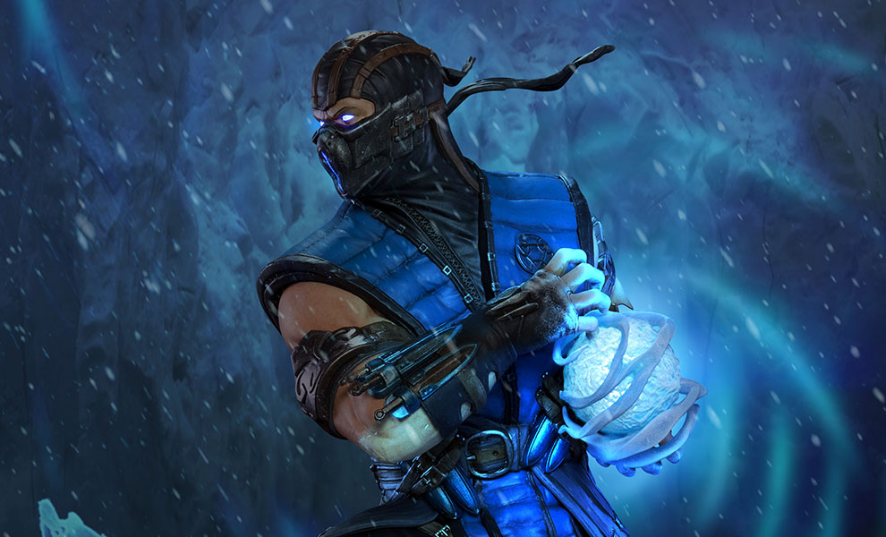 Gallery Feature Image of Sub-Zero Statue - Click to open image gallery